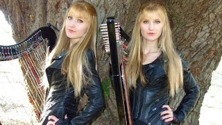 THE HANGING TREE (HUNGER GAMES) Harp Twins - Camille and Kennerly