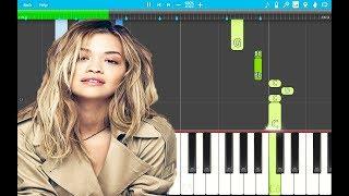 Rita Ora - Let You Love Me PIANO Tutorial EASY (Piano Cover)