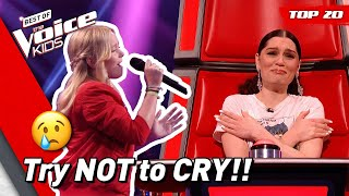 💔 Heartbreak songs on The Voice Kids! | Top 20