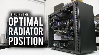 Does Radiator Placement Matter? Hint: YES