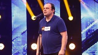 Pavarotti - Nessun Dorma. Vezi interpretarea lui Sorin Ursan, la X Factor!