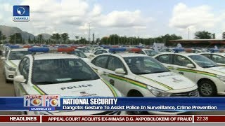 Dangote Foundation Donates 150 Cars To Nigeria Police Force