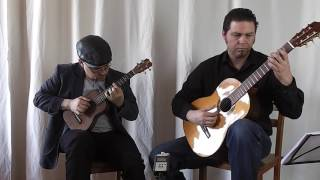 J.S. Bach: Invention 4 for ukuele & guitar (BWV 775)