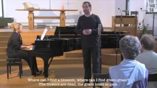 """4. """"Erstarrung"""" (HD). Sam McElroy / Gabriela Montero. WINTERREISE, Schubert / Müller."""