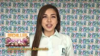 Jazmín Leyva Alvarado · Bachiller Ejemplar 2016