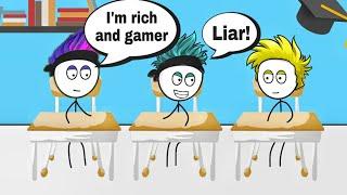 When a gamer gets richest gaming friend