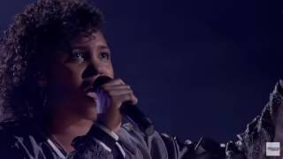 "Jayna Brown, 14, Stuns Audience With Cover of Katy Perry's ""Rise"""