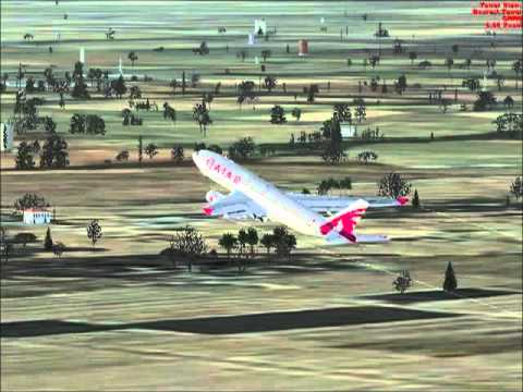 Airbus 330 from GMMN to GMAD with Cpt. E. Amine
