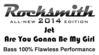 """Jet """"Are You Gonna Be My Girl"""" Rocksmith 2014 bass cover finger"""