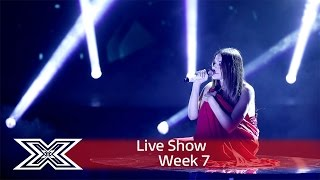 Lady in red Emily Middlemas wows with Roxette cover | Live Shows Week 7 | The X Factor UK 2016
