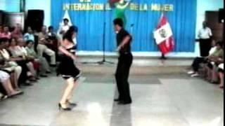 Baile de salsa en el cam Trujillo Perú