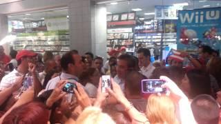 Alejandro Garcia Padilla en Plaza Las Americas