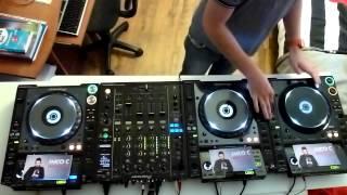 Mico C Fun Radio Défi 2l | M6 Mobile DJ Experience | Axel Paerel | Mixer sans casque