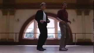 Dance Duet  of Gregory Hines and Mikhail Baryshnikov in 'White Nights' Movie