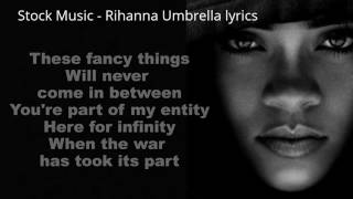 RIHANNA || UMBRELLA REMIX /w LYRICS