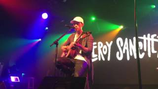 LEROY SANCHEZ LIVE 2016 - ALL I ASK/ HELLO (ADELE)