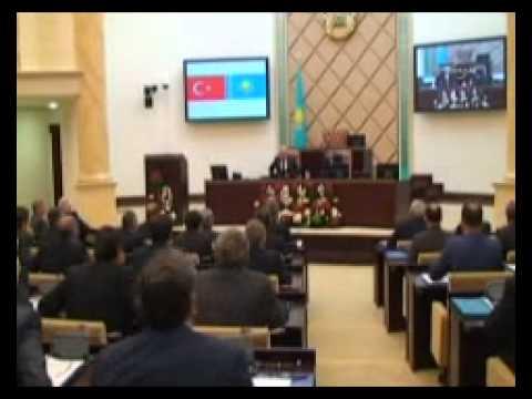 TBMM Başkanı Çiçek Kazakistan Senatosu'nda