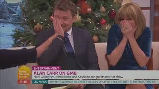 22.12.2017 Alan Carr Drank Moonshine with Kasabian   Good Morning Britain