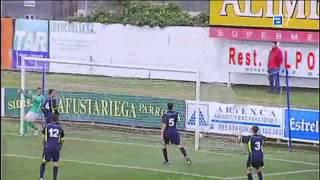 Gol de N'Doye (1-2) / Marino de Luanco 1-2 Atlético de Madrid 'B'