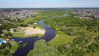 22.07.2017 Flight over Berezina river @ Borisov, Belarus