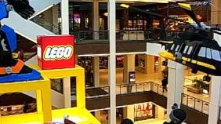 Mall Of America. The Largest in US and  its huge LEGO structure
