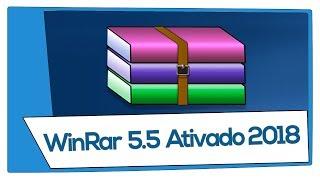 WinRAR 5.55 Baixar 32/64 Bits Completo e Ativado 2018 Sem Erros !!