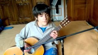 Flor de Lis (Djavan) - Guitar and voice