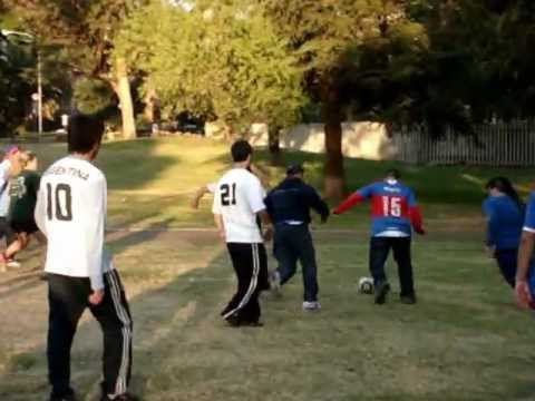The Yehls playing soccer with the Argentinians.MPG