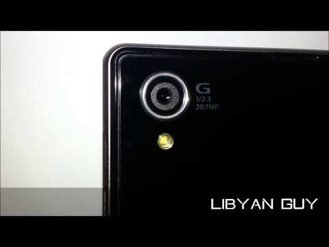 SONY XPERIA Z1 CAMERA LENS MOVEMENT