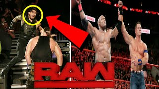 WWE Monday Night Raw 1st October 2018 Full Highlights And Preview ! John Cena Return ! The Shield !