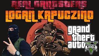 REAL GANGSTERS | LOGAN KAPUCZINO&GEORGE  | PARIS PLATYNOV GTA RP | STREFA RP | SKRÓT LIVE
