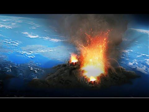 Alerta para uma possível erupção vulcânica que possa atingir o mundo inteiro