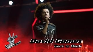 David Gomes - Back to Black (Amy Winehouse) | Gala | The Voice Portugal