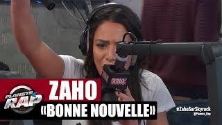 """Zaho """"Bonne nouvelle"""" en live #PlanèteRap"""