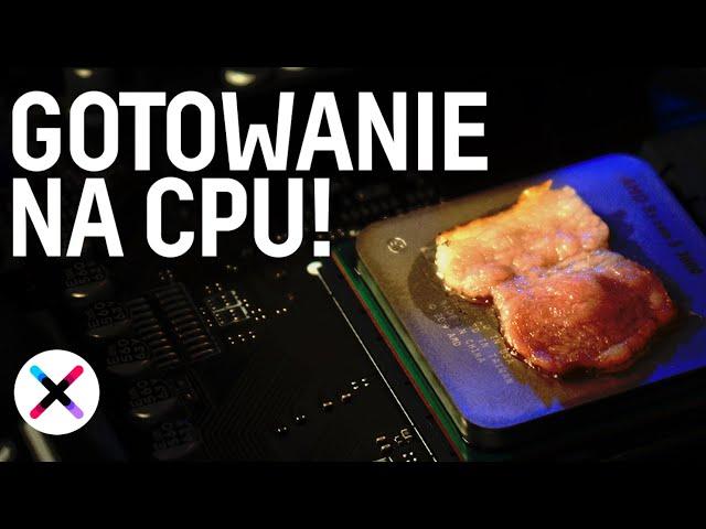 GOTOWANIE NA PROCESORZE 🔥| Co lepsze na grilla: Intel czy AMD? ft. @TechLipton