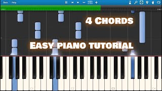 4 Chords - axis of awesome [Synthesia]