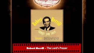 Robert Merrill – The Lord's Prayer