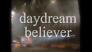 daydream believer (Lyrics video) - xZIZIx