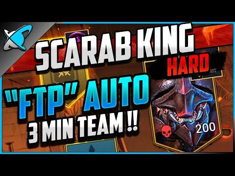 """EASY F2P AUTO"" Borgoth the Scarab King on HARD!! | Doom Tower Series | RAID: Shadow Legends"