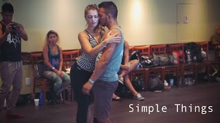 Miguel - Simple Things - Styling for Couples - Layssa Liebscher & Arthur Liebscher - I'M Zouk 2016