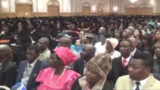 """With Hard Work - Success will surely follow"" - reporter Aron Mushaukwa graduates"