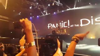 Emperor's New Clothes (60FPS) - Panic! At The Disco Live In Singapore 2016