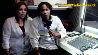 Ti CORN live with sanba Okan & Mami Wata in La otra Mirada Radio Raices, mexico.