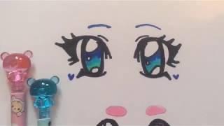 How to draw a gacha life girl