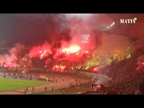 Video : Les chefs-d'oeuvre des fans du Wydad et du Raja lors du derby historique en Coupe Mohammed VI