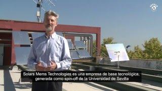 José Manuel Quero te presenta la tecnología de la empresa Solar Mems