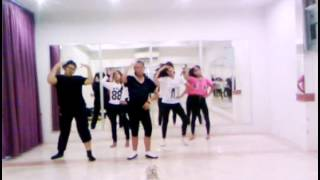 ♤S.a cover CRAZY 4MINUTE (dance practice) 20150425
