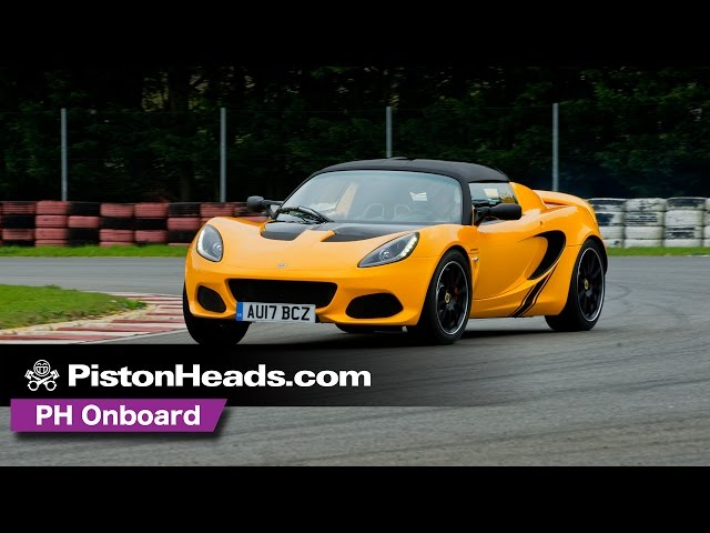 Lotus Elise Sprint 220  at Hethel | PH onboard | PistonHeads