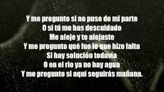 LOS GFEZ - Y Me Pregunto LETRA