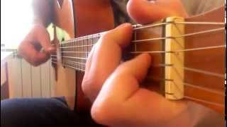 peter gabriel - solsbury hill (guitar cover)